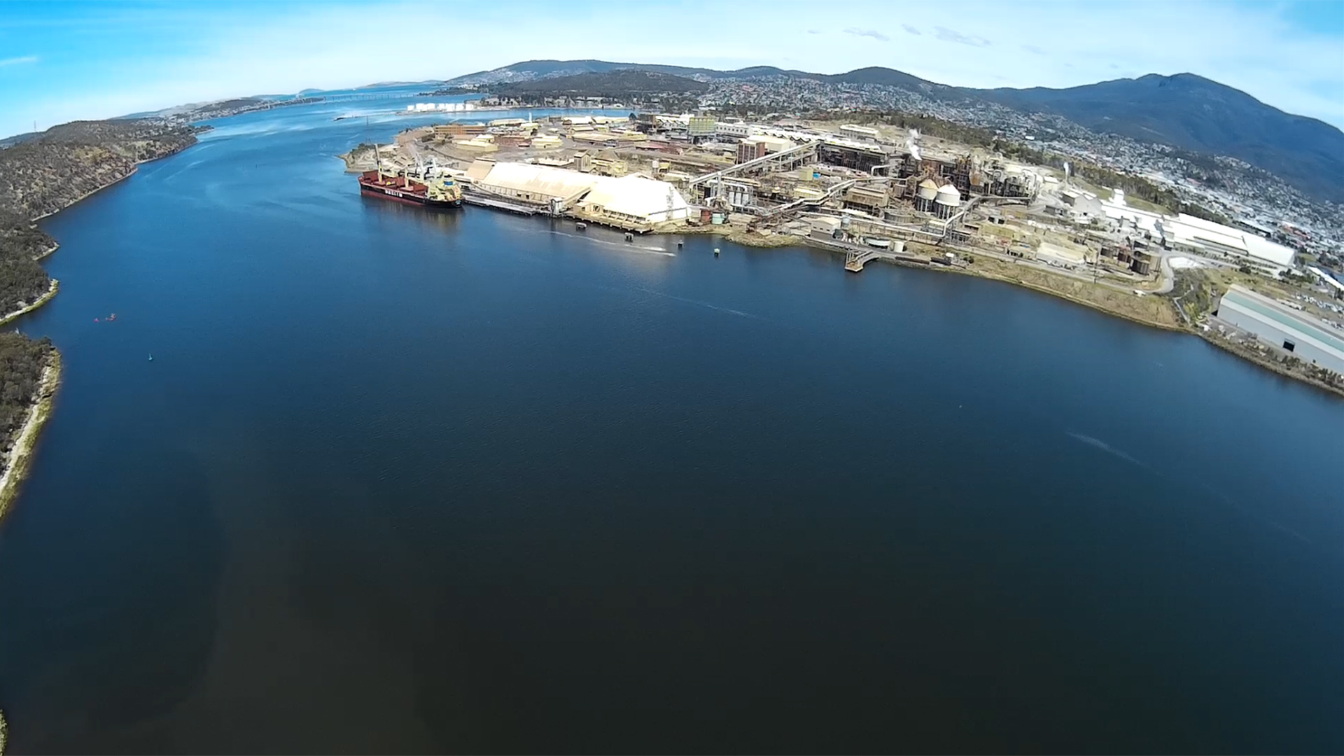 Hobart Otago from the Scout X4 - still from iLook video.