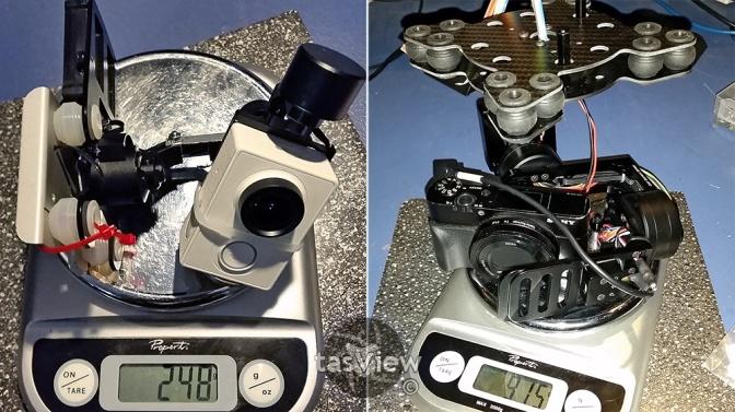338 cameras weight