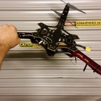 F550 Y6 Tricopter conversion