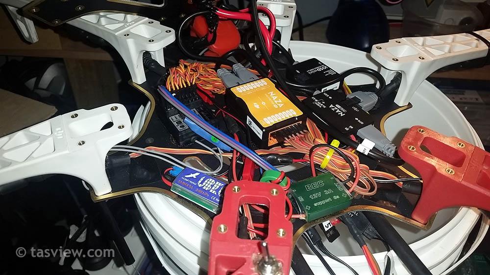 F550 electronics
