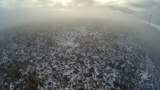 Bolder Fields as the cloud closed in.