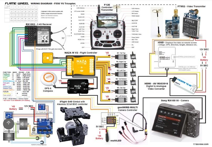 Dji Phantom 2 Vision Plus Parts Diagram Cardbk Co Wiring Harness Naza