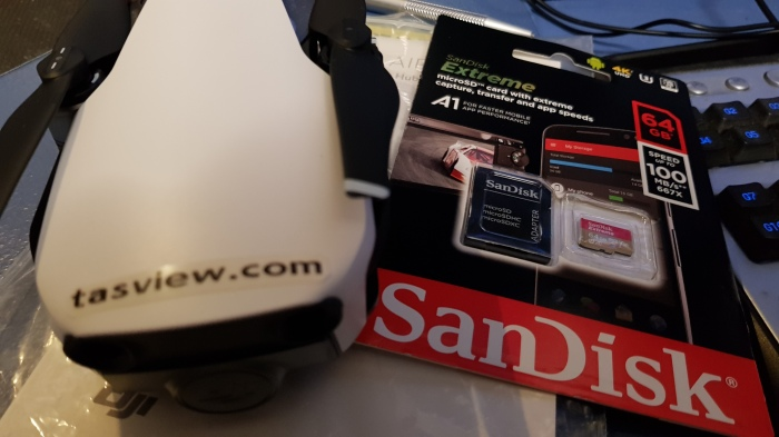 You will need a high speed Micro SD card.
