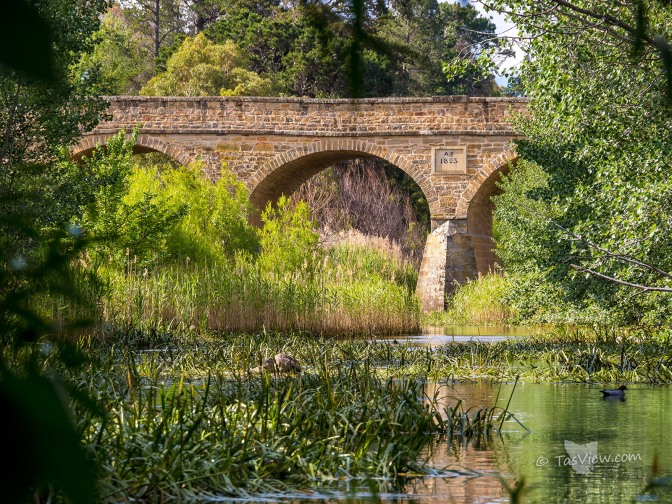 Taken from down the river for a different perspective of the 1823 stone bridge.