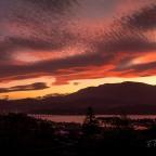 Sky painting – kunanyi sunsets