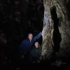 Big tree night selfie